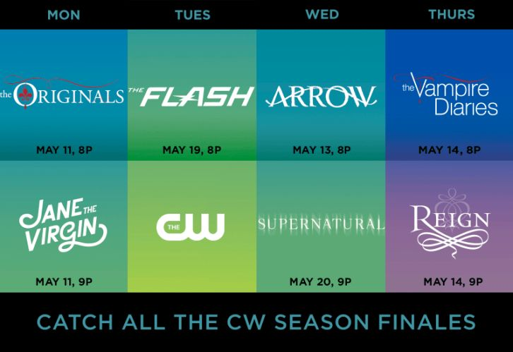 The CW shows