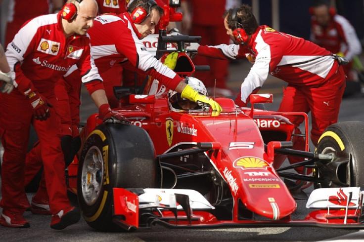 Sebastian Vettel and Ferrari