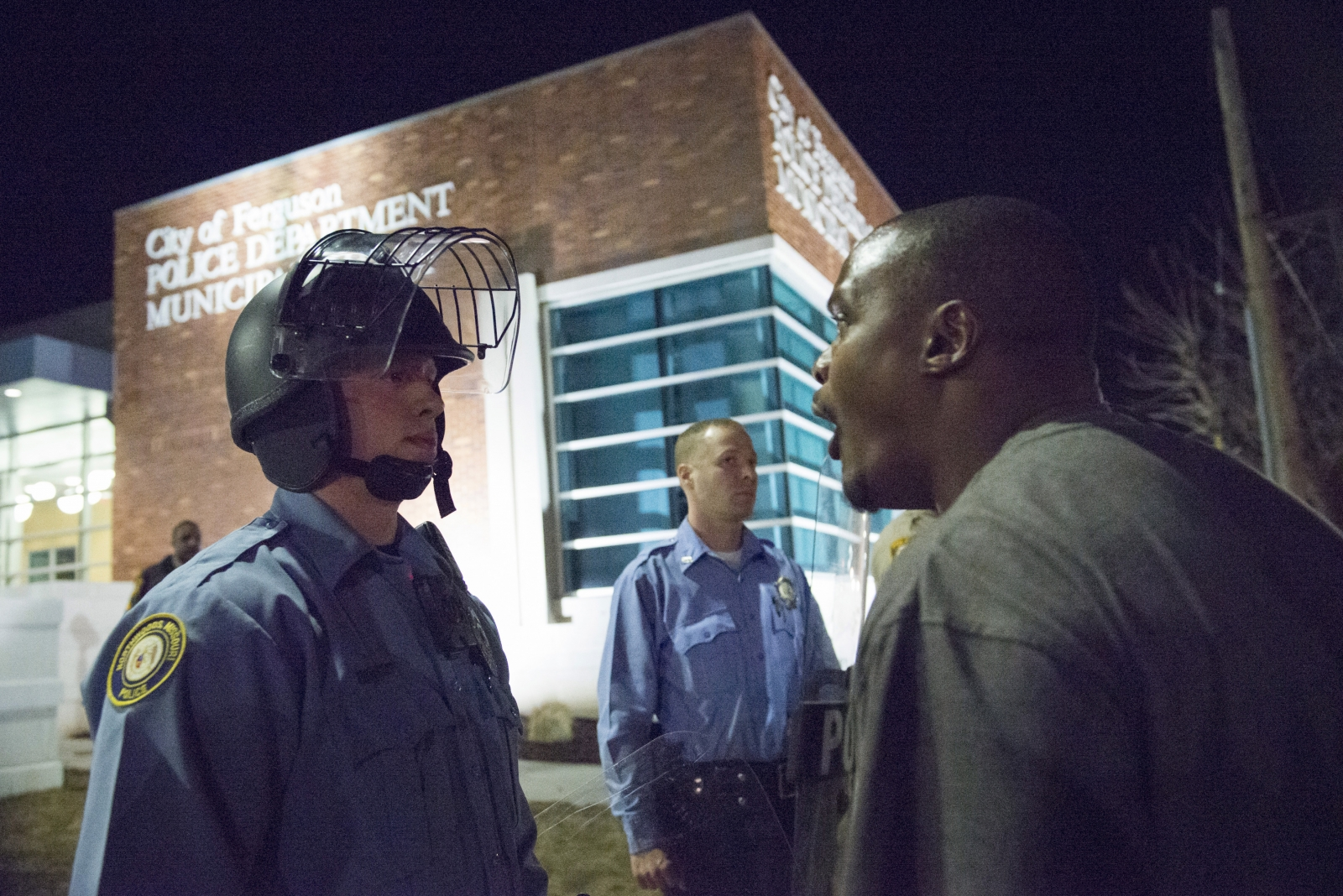 Civil unrest in Ferguson erupts into violence