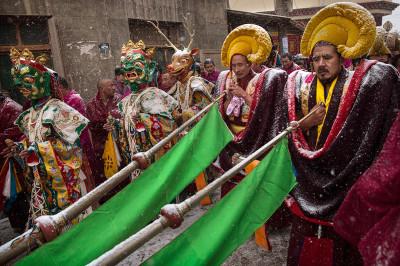 Tibetan Buddhist monks Labrang Monastery