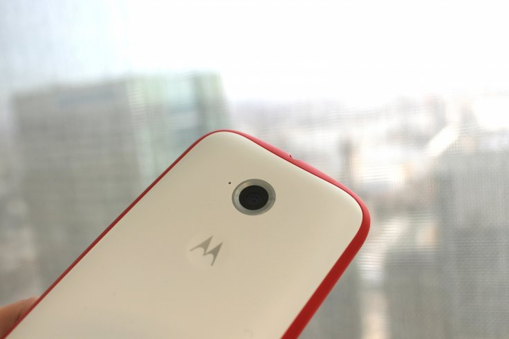moto e review camera