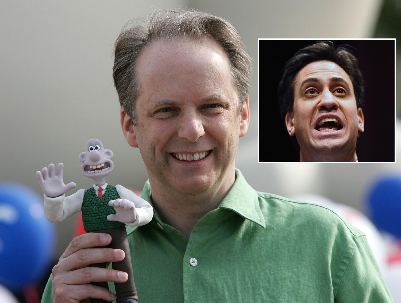 Wallace comparison damages Miliband, fear Nick Park