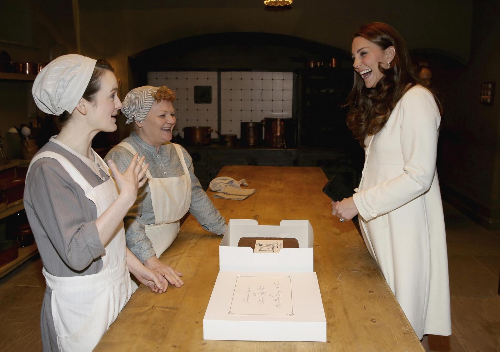 Kate at Downton