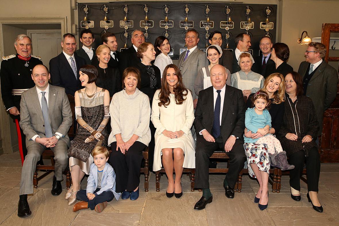 Kate Middleton Downton Abbey
