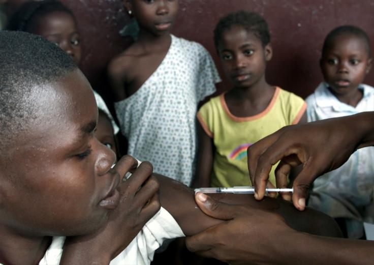 measles vaccine liberia