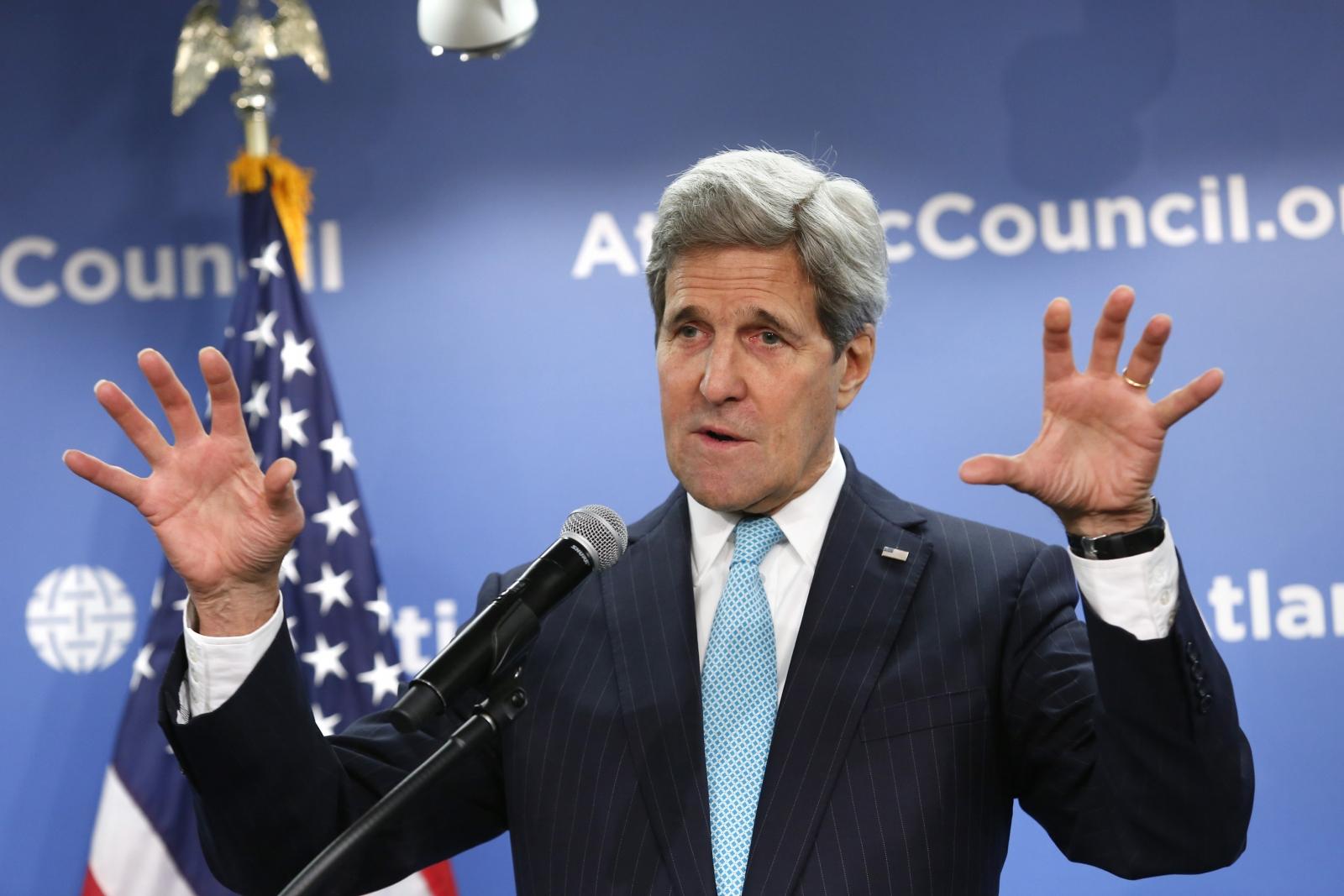 John Kerry Atlantic Council