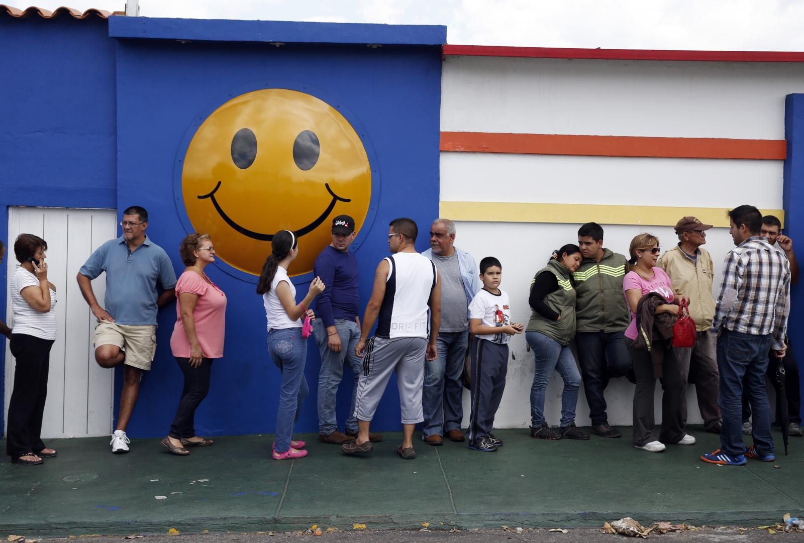 Venezuela people food shortage