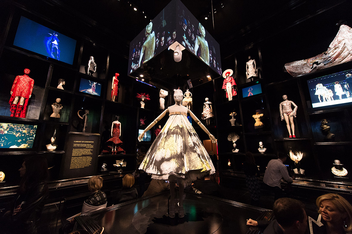 Alexander McQueen Savage Beauty Exhibition At The V&A In