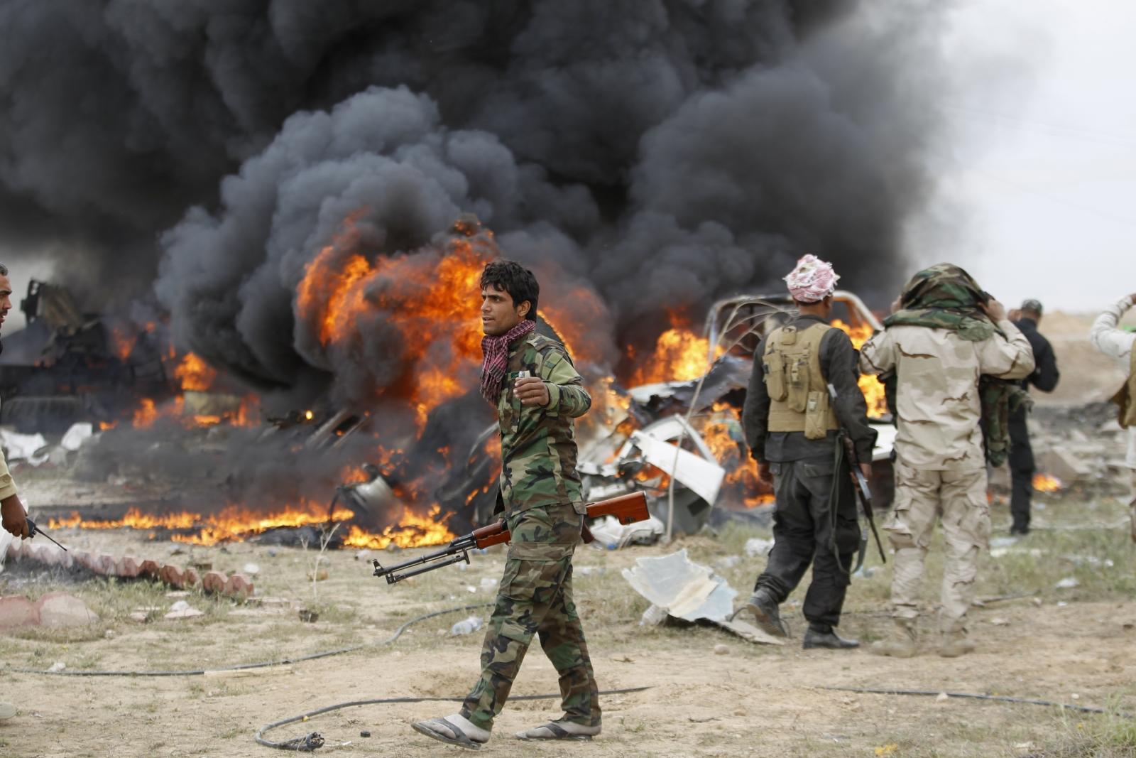 Battle for Tirkit against Isis