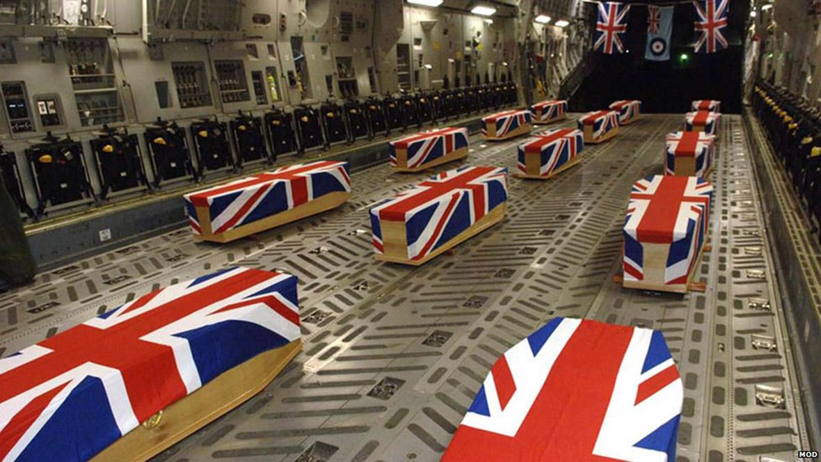 Image result for afghanistan war british coffin