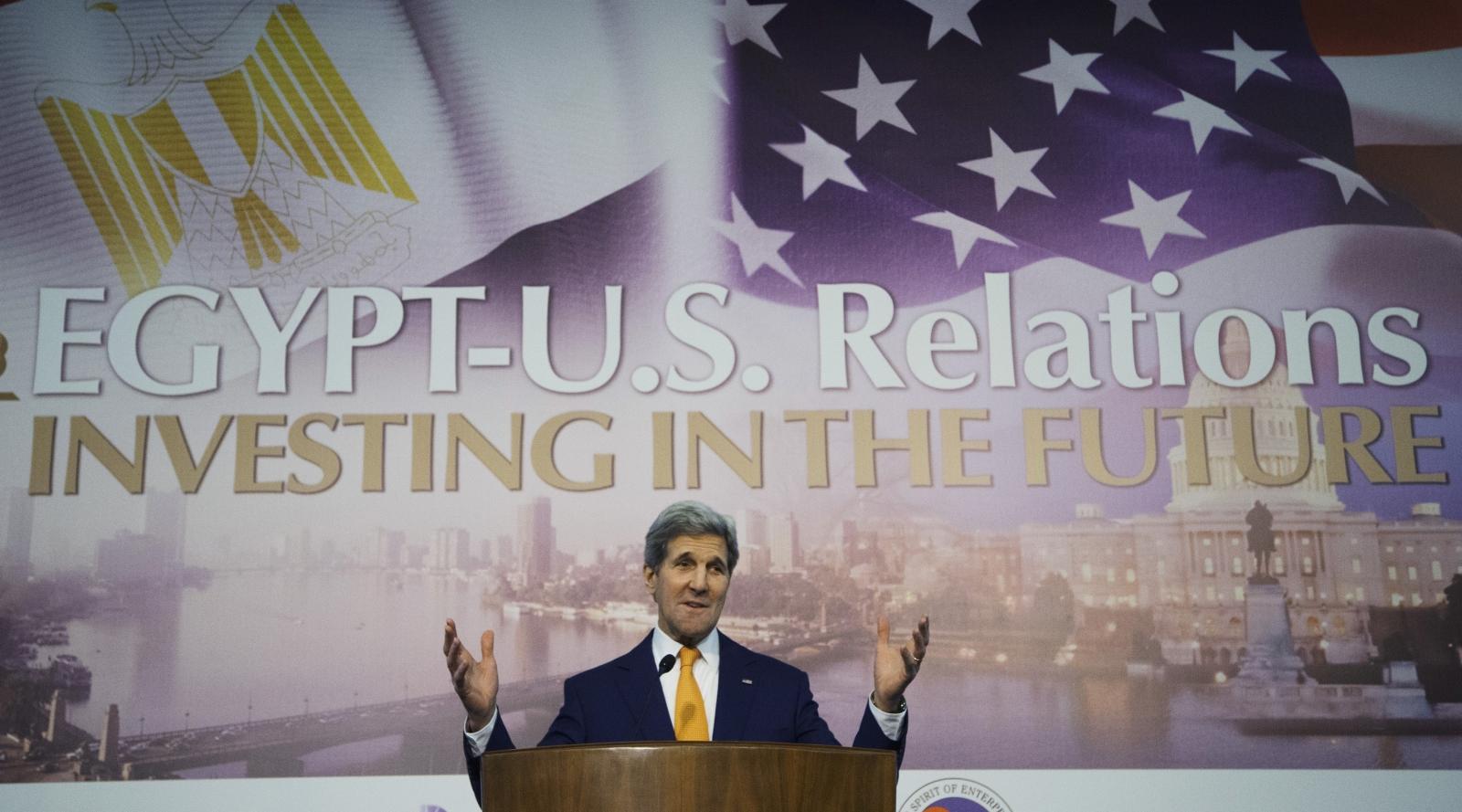 John Kerry Egypt