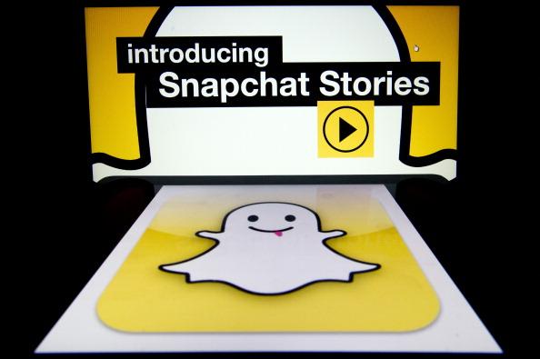 Ghost girl in Snapchat