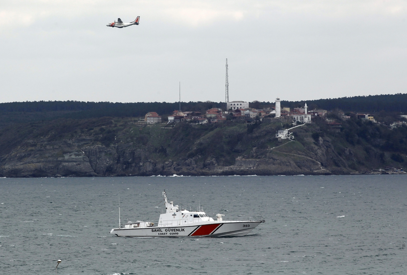 Turkey migrant ship