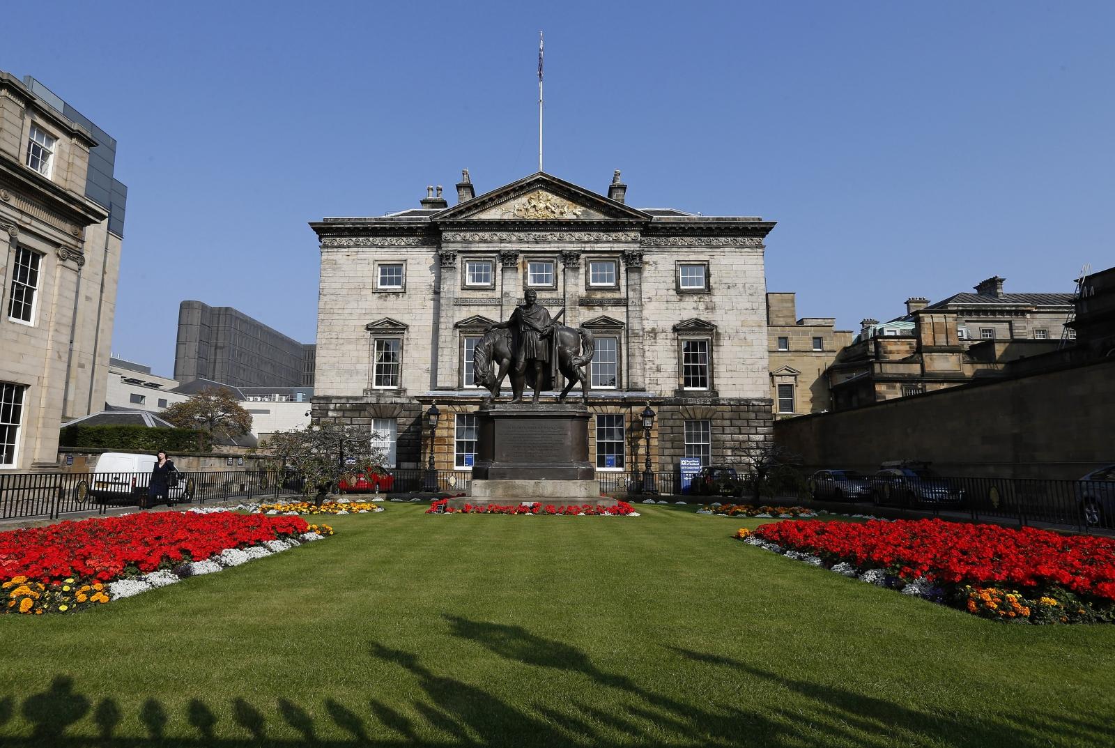 Royal Bank of Scotland RBS Headquarters Edinburgh