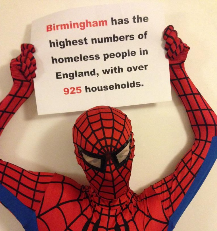 Birmingham Spiderman
