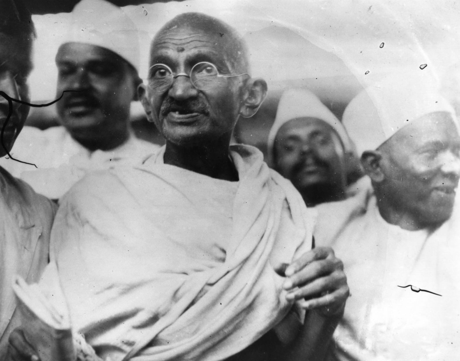Mahatma Gandhi (Mohandas Karamchand Gandhi,1869)