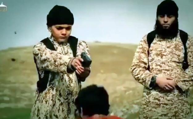 ISIS Child Killer Hostage