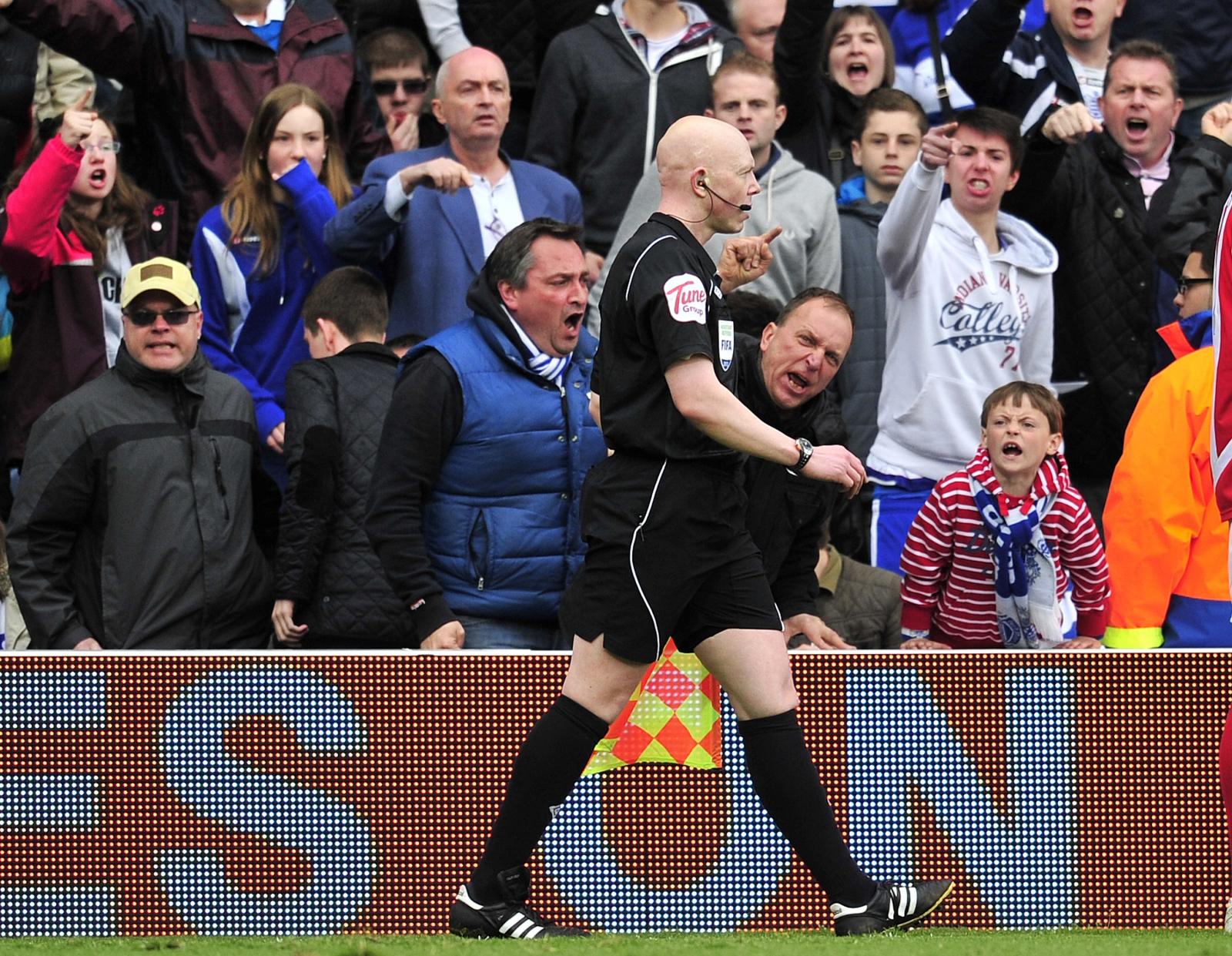 Referee hostility