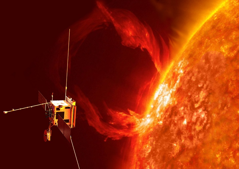 ESA Solar Orbiter artist interpretation