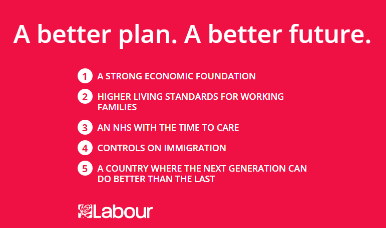 Labour pledge card 2015