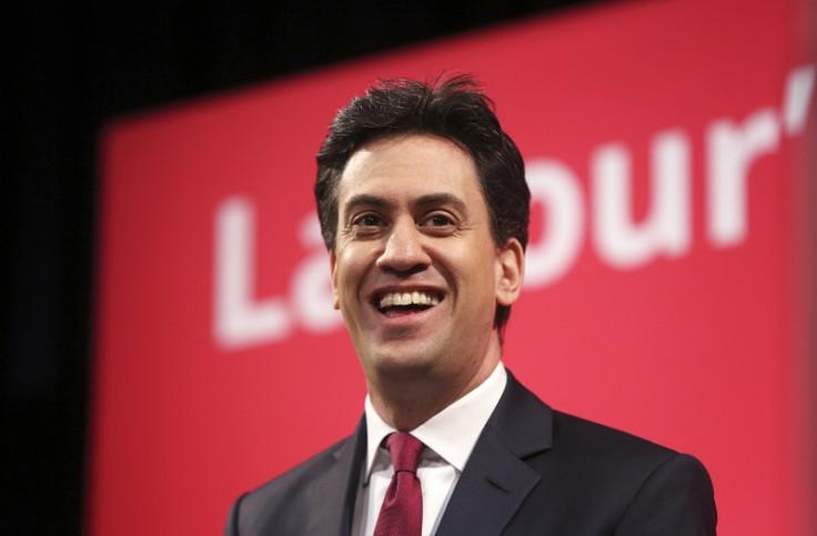 Ed Miliband speaking at Haverstock school