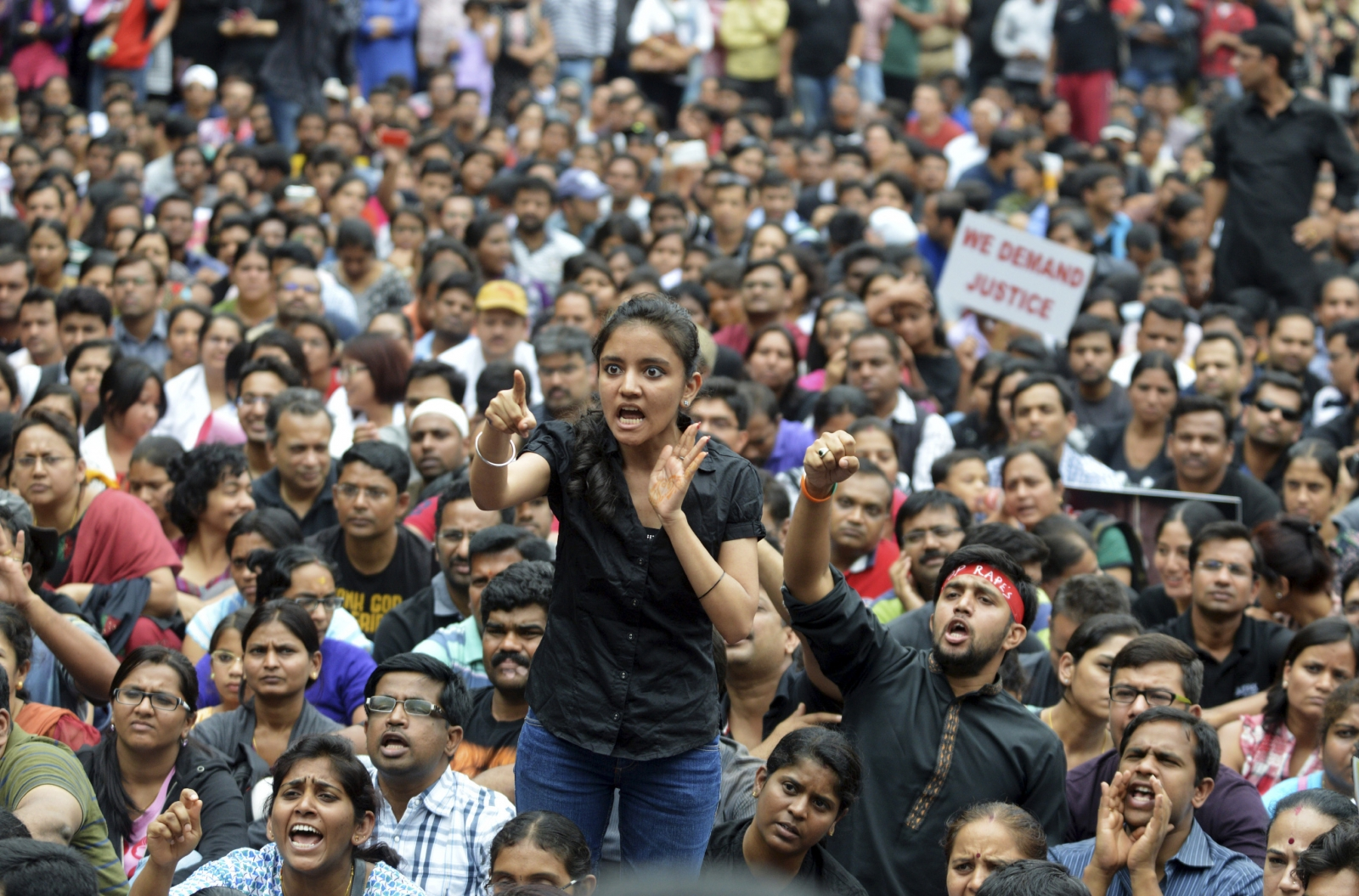India protests against rape