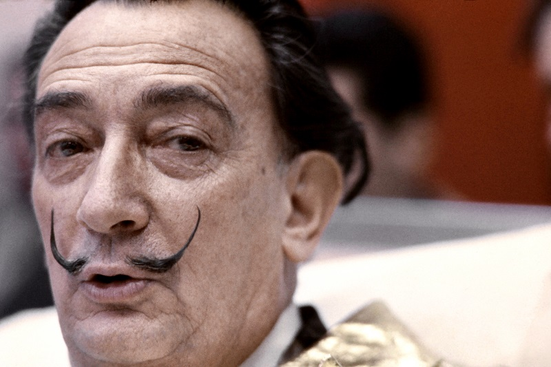 Salvadore Dali in 1971