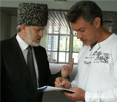 Akhmed Zakayev Boris Nemtsov Chechenya