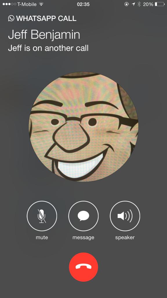WhatsApp Calling for iOS