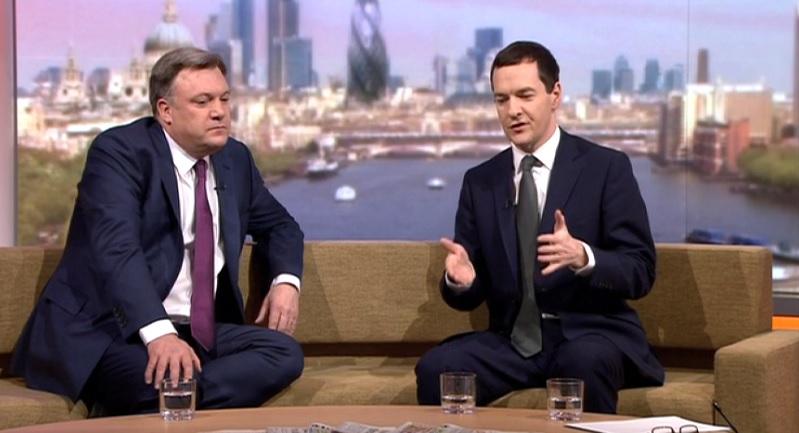 Ed Balls and George Osborne