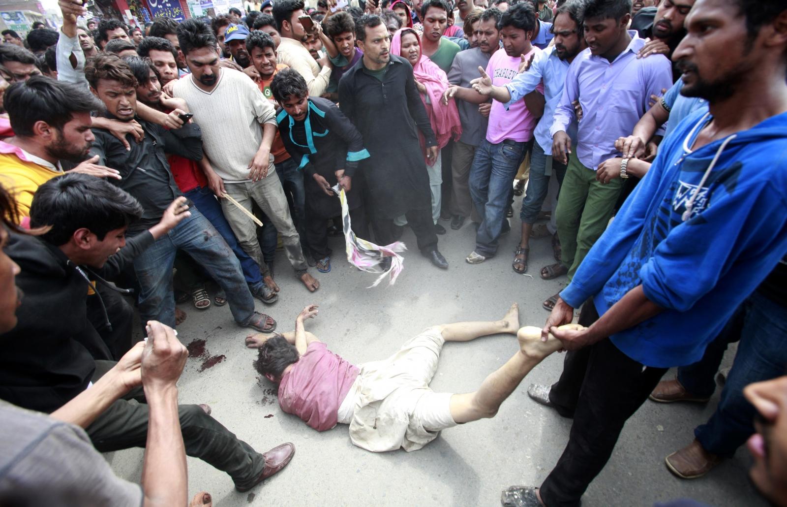 Pakistan Lahore blasts