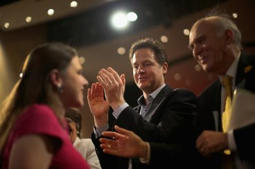 Nick Clegg Vince Cable