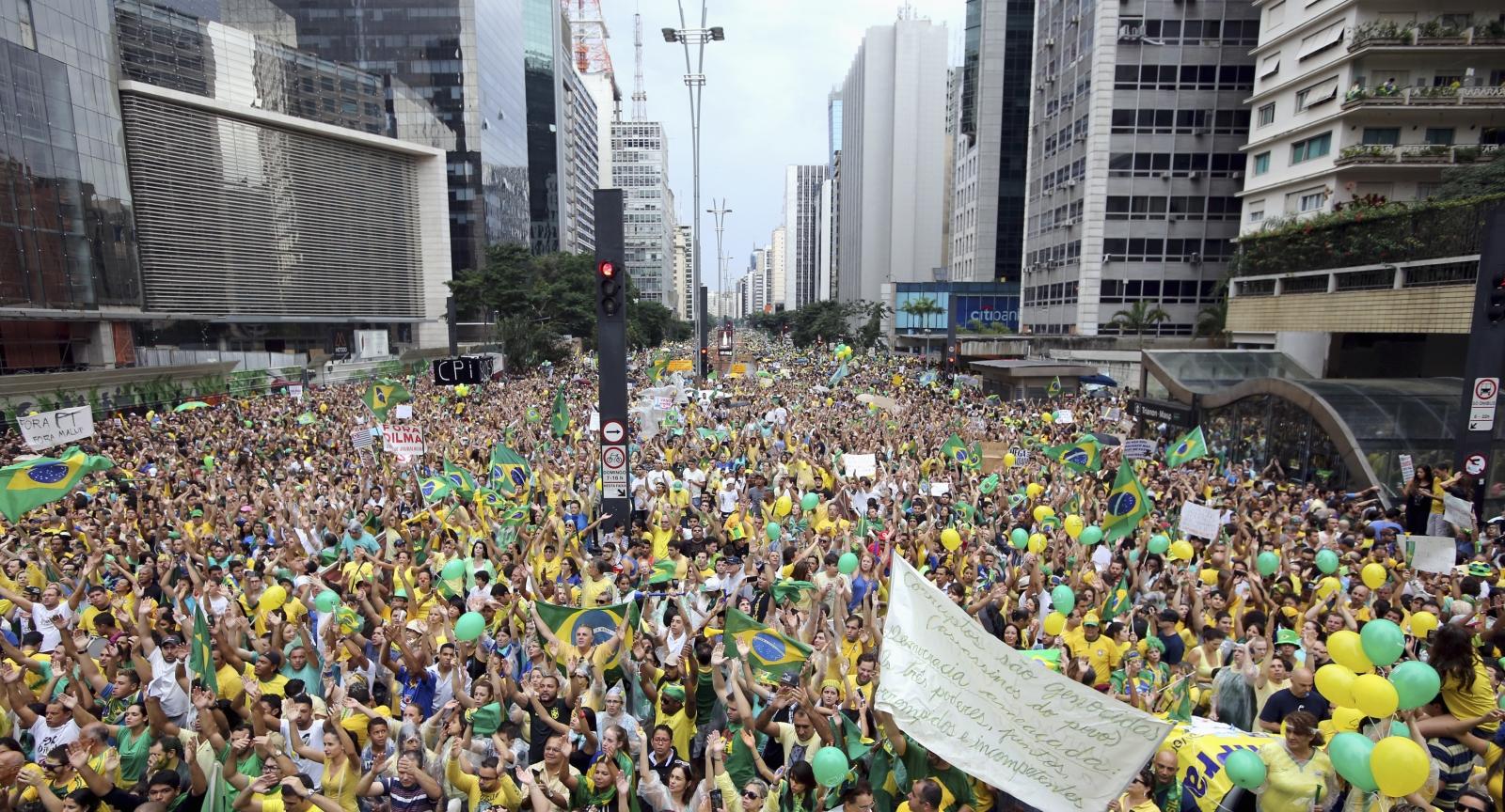Brazil anti-government protests