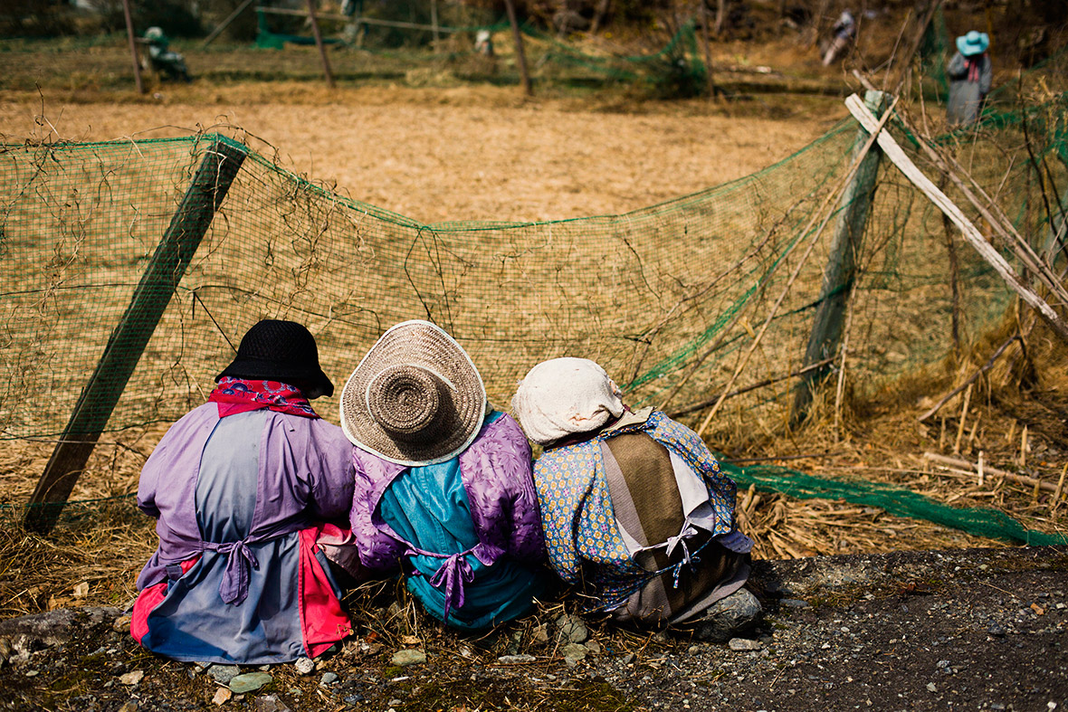 Scarecrow village Nagoro Japan