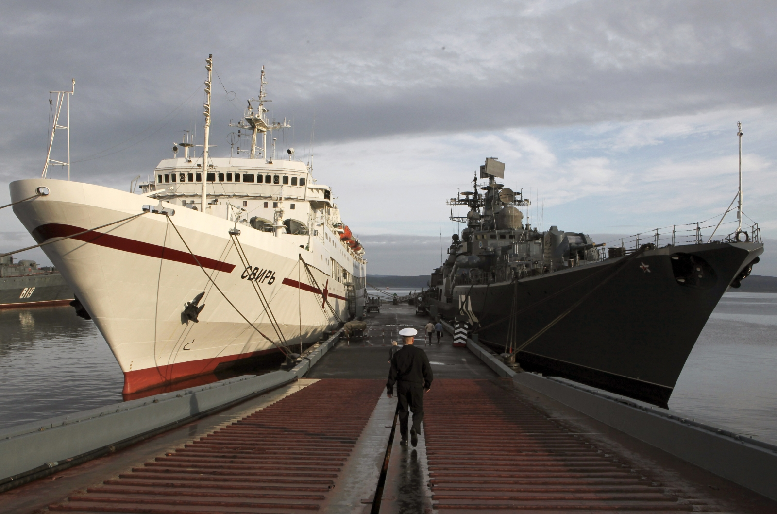 Russia Northern Fleet and Putin