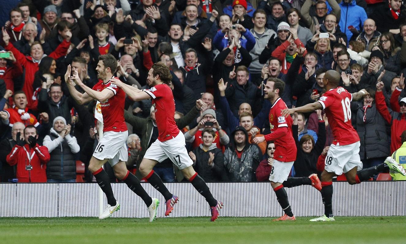 Michael Carrick returned for Manchester United