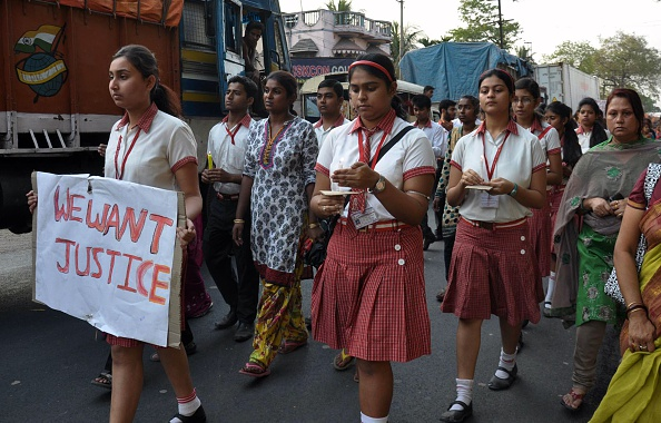 India gang-rape protest