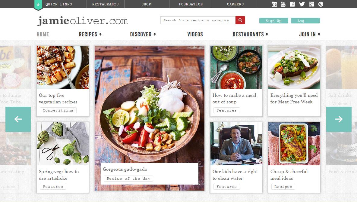 Jamie Oliver.com
