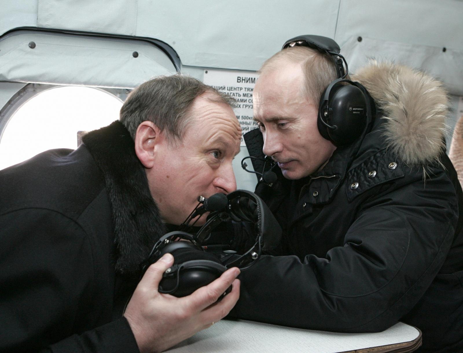 Nikolai Patrushev Vladimir Putin Siloviki