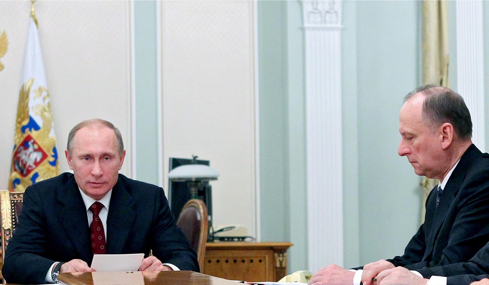 Nikolai Patrushev Vladimir Putin