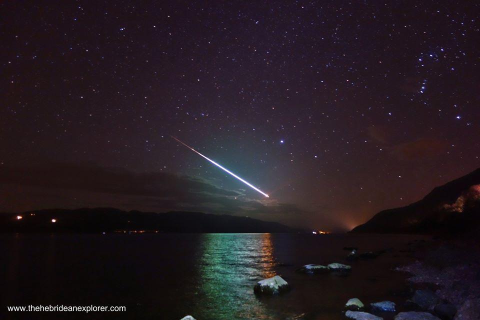 Loch Ness meteor