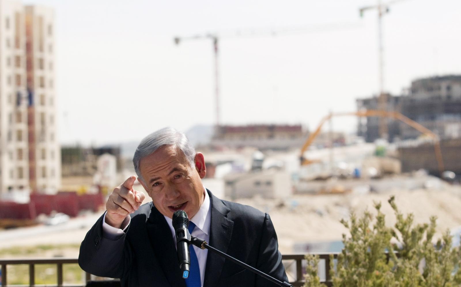 Netanyahu Israeli elections Palestinian state