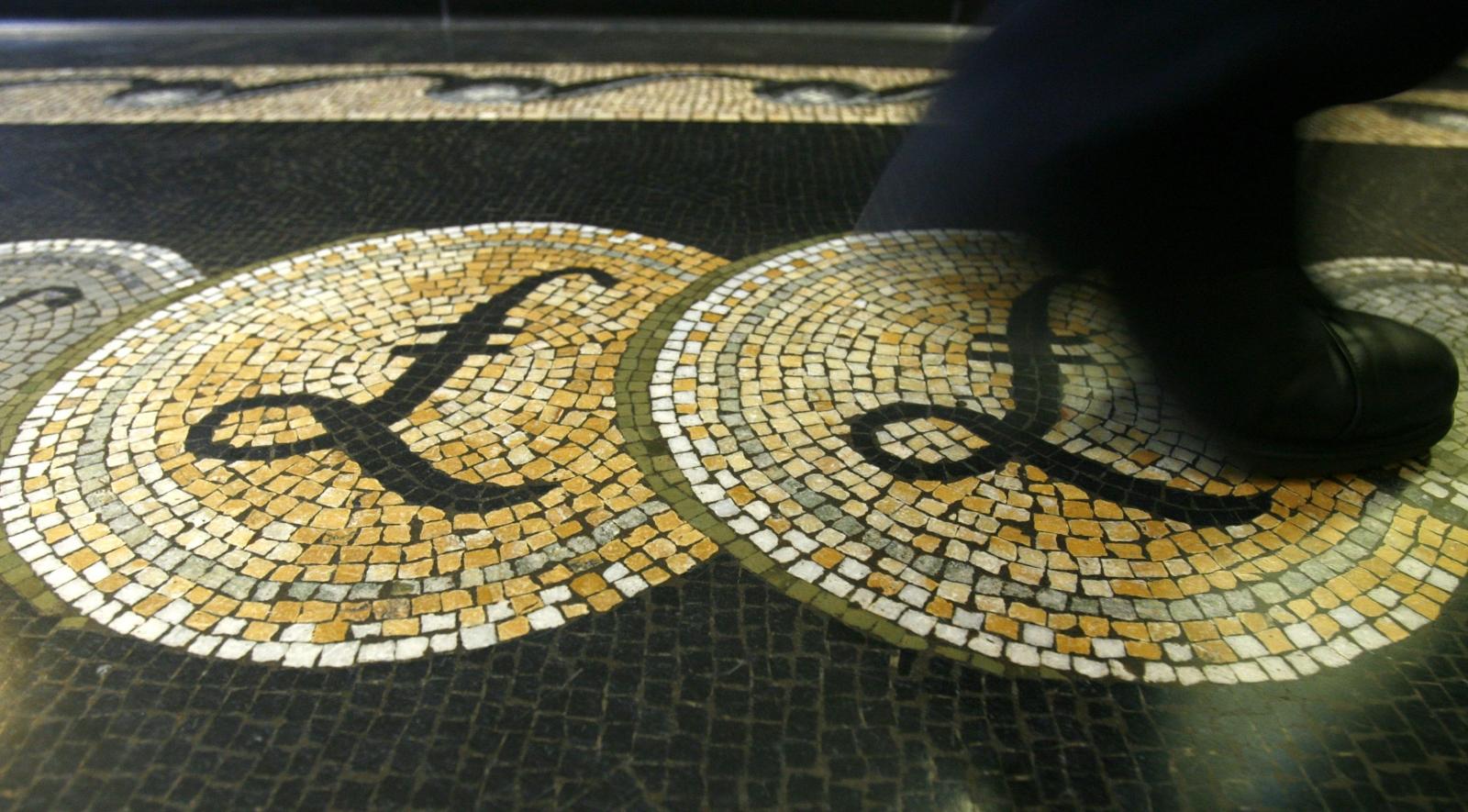 British pound sterling street