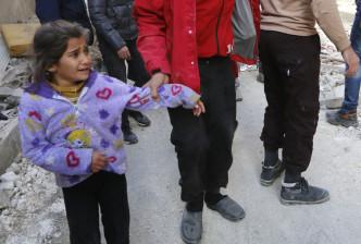 Child Raqqa Syria air raid