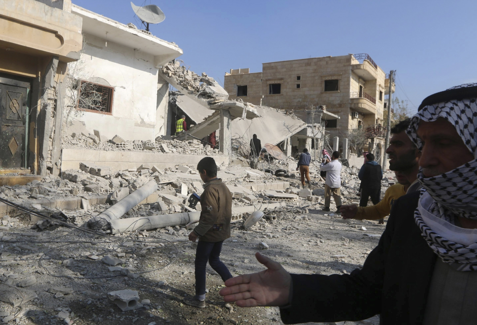 Raqqa air strike