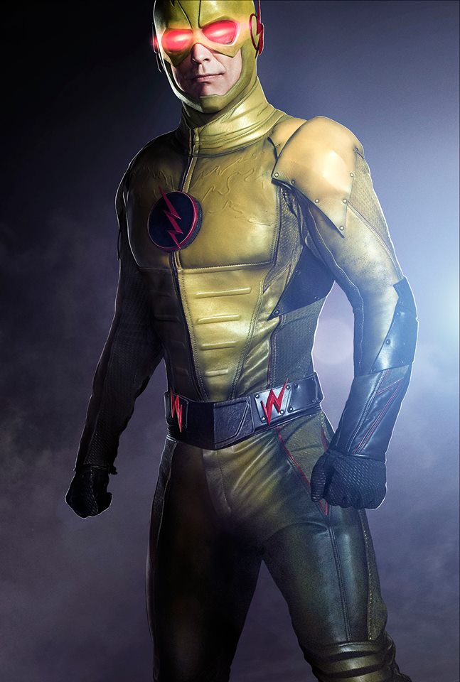 harrison Wells as Reverse Flash