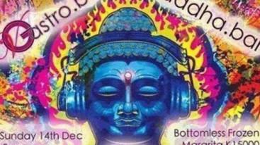 Psychedelic Buddha headphones Myanmar