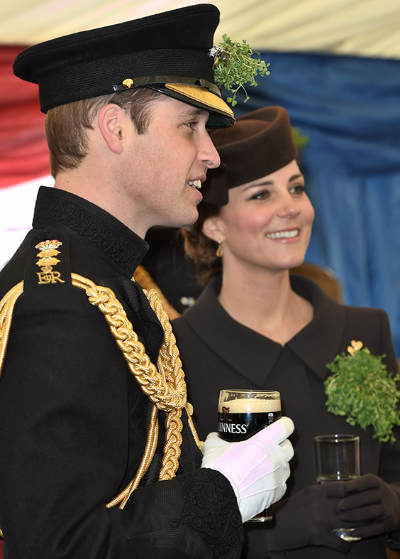Kate Middleton St Patricks Day Parade