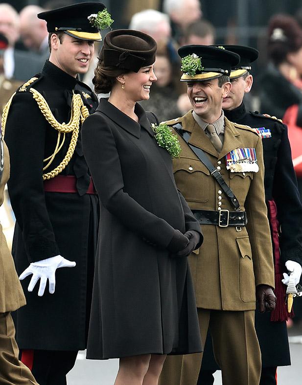 Kate Middleton St Patrick's Day Parade