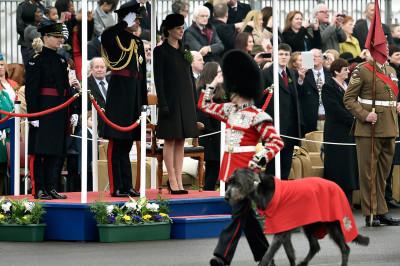 Kate Middleton St Patricks Day Parade